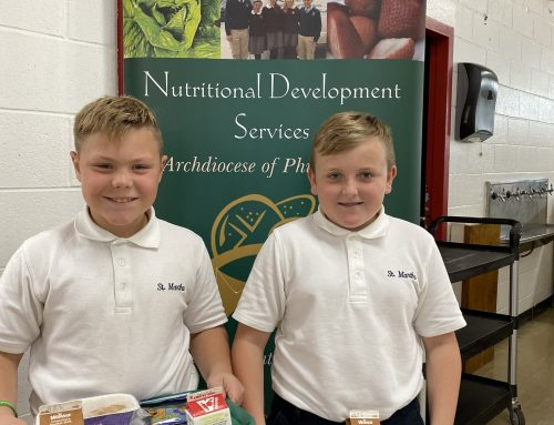 School lunch program is nutritious, delicious – and blessed